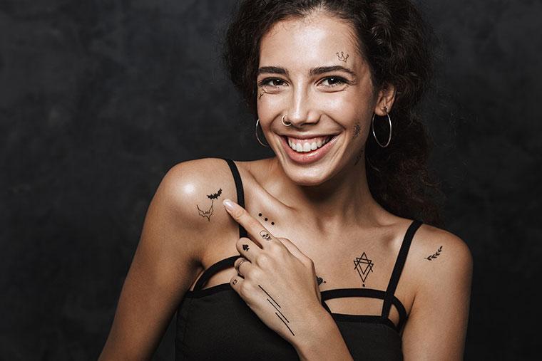 Tatouage et piercings